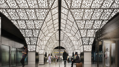 U-R-A Chosen to Redesign Moscow's Novoperedelkino Subway Station