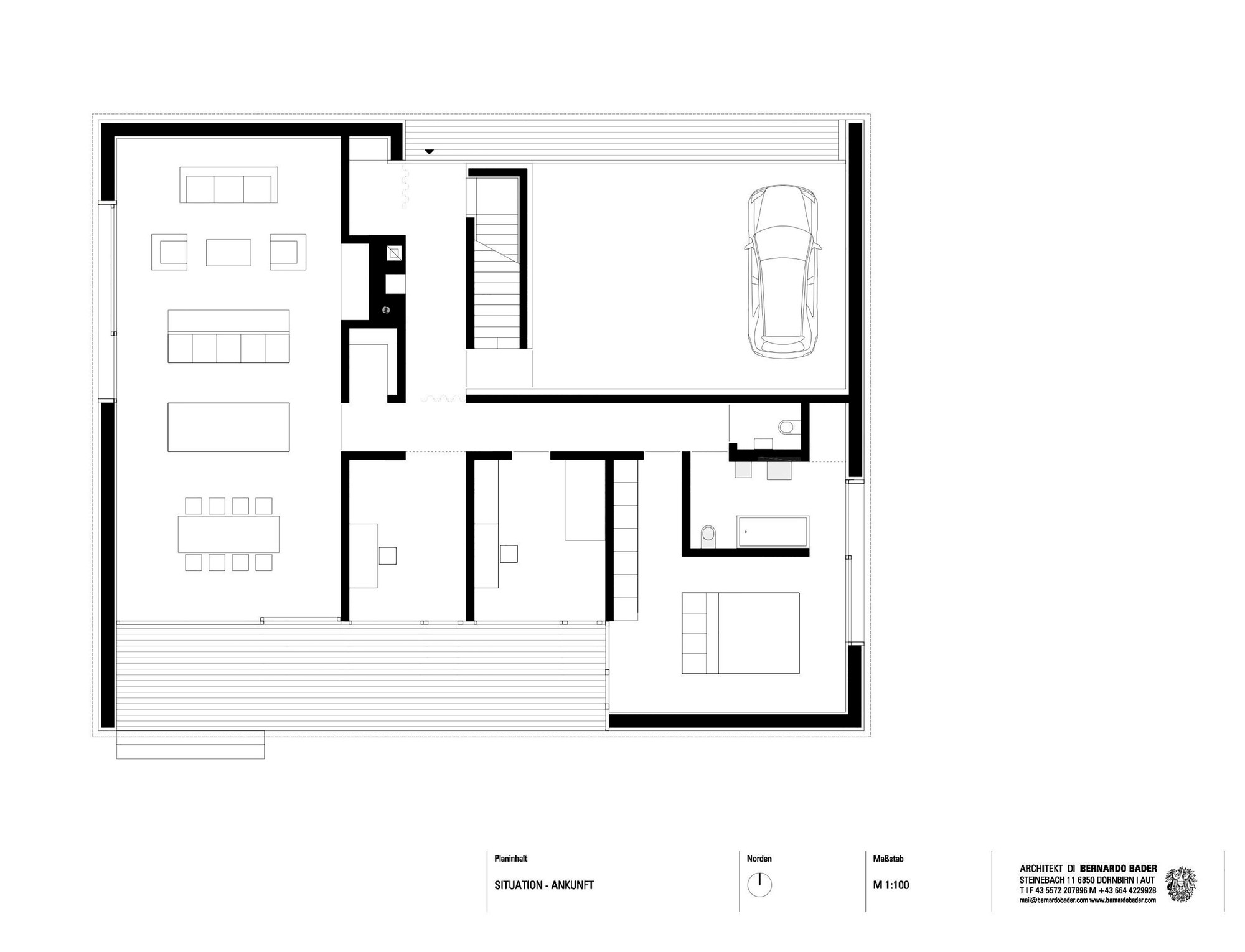 Haus kaltschmieden bernardo bader architects archdaily for Haus plan