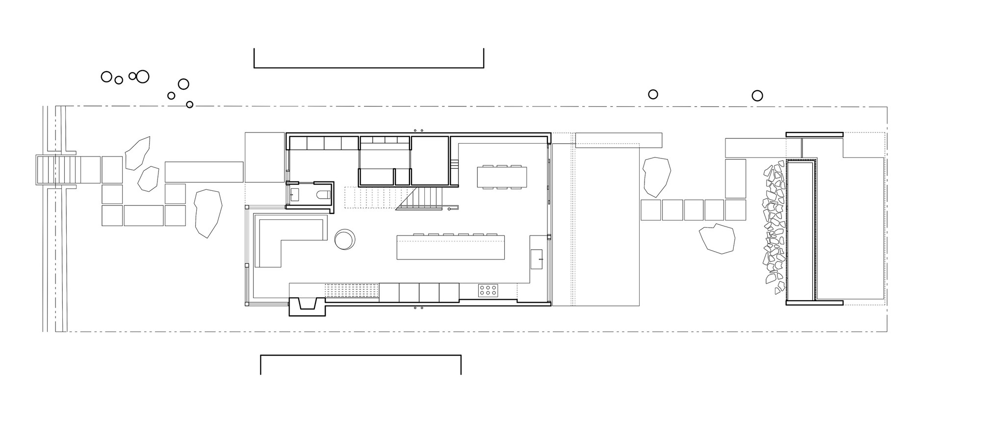 430 House,Ground Floor Plan