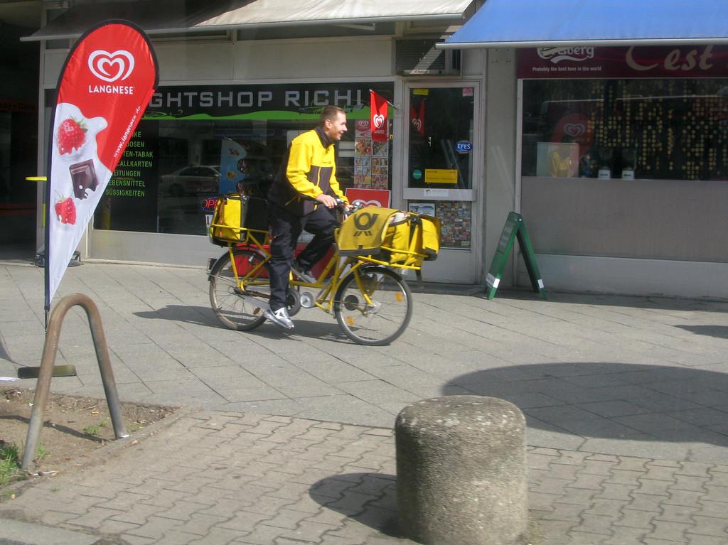 Alemanha incentiva o uso de bicicletas de carga para diminuir a poluição ambiental, © Mikael Colville-Andersen, via Flickr. Used under <a href='https://creativecommons.org/licenses/by-sa/2.0/'>Creative Commons</a>