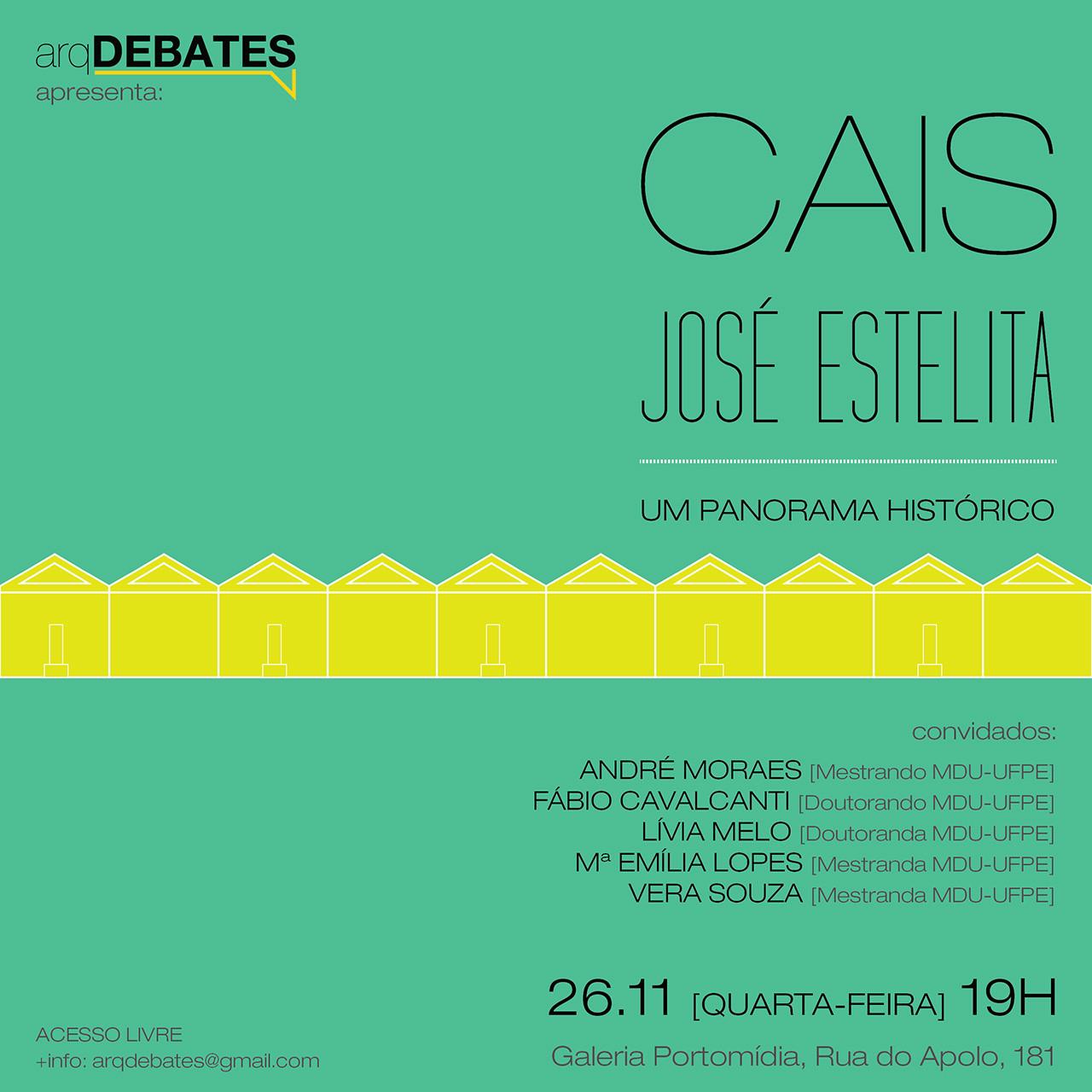 """arqDEBATES: """"Cais José Estelita: Um Panorama Histórico"""", Cortesia de arqDEBATES"""