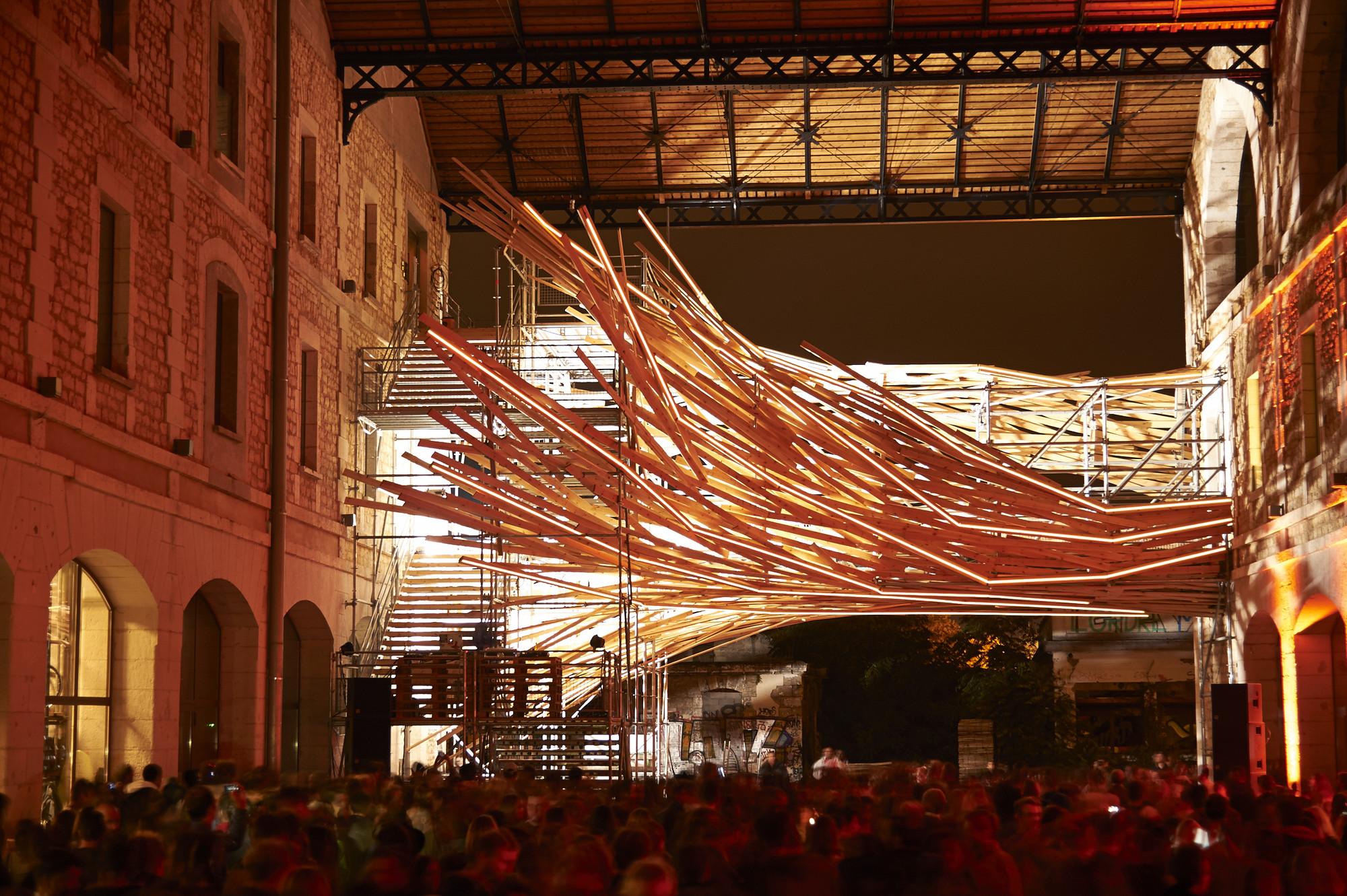 """Arte y Arquitectura: """"Vortex"""", una instalación de análisis ambiental y de arte, Cortesía de 1024 architecture"""