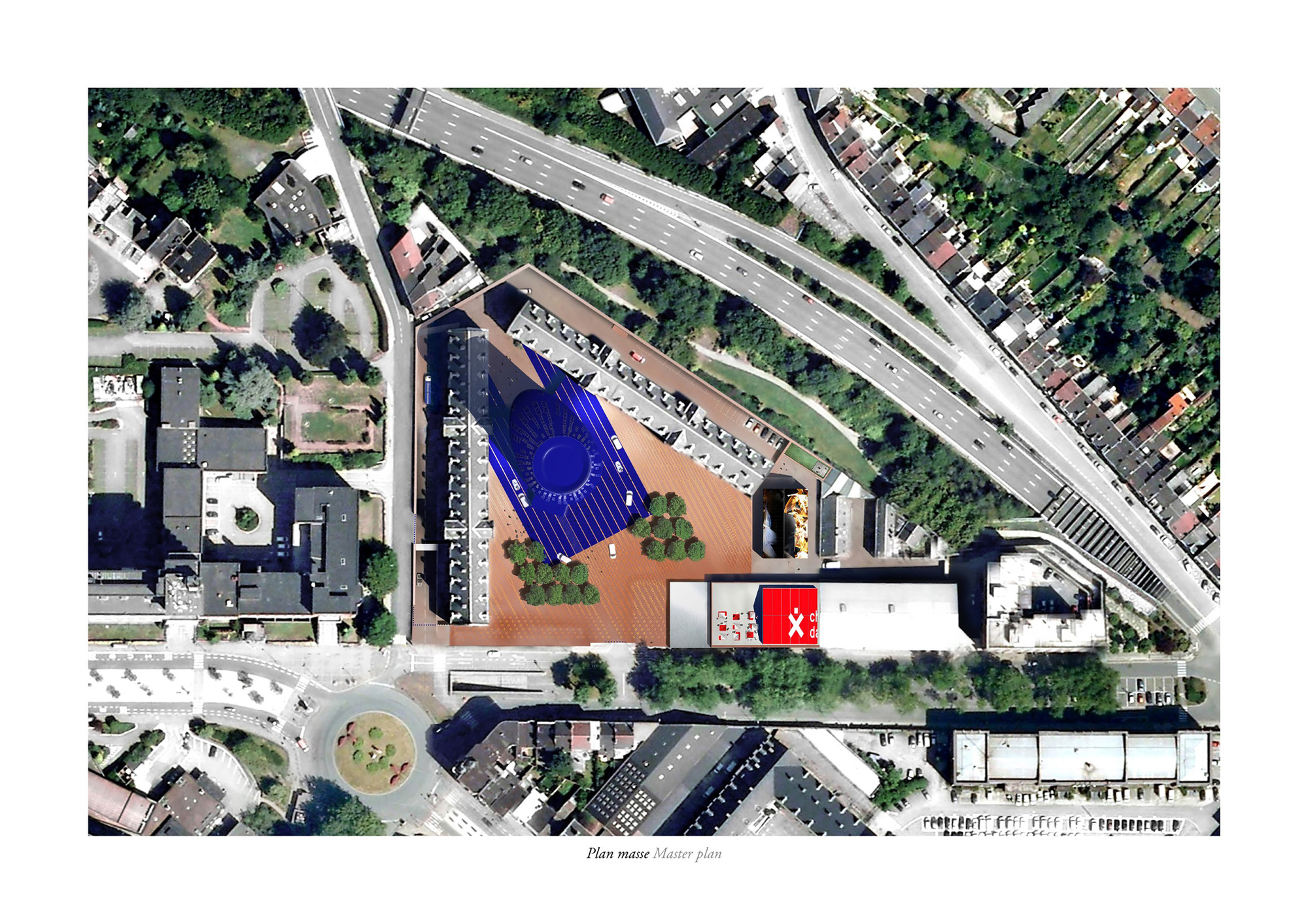 Police Headquearters & Charleroi Danses / Ateliers Jean Nouvel + MDW Architecture