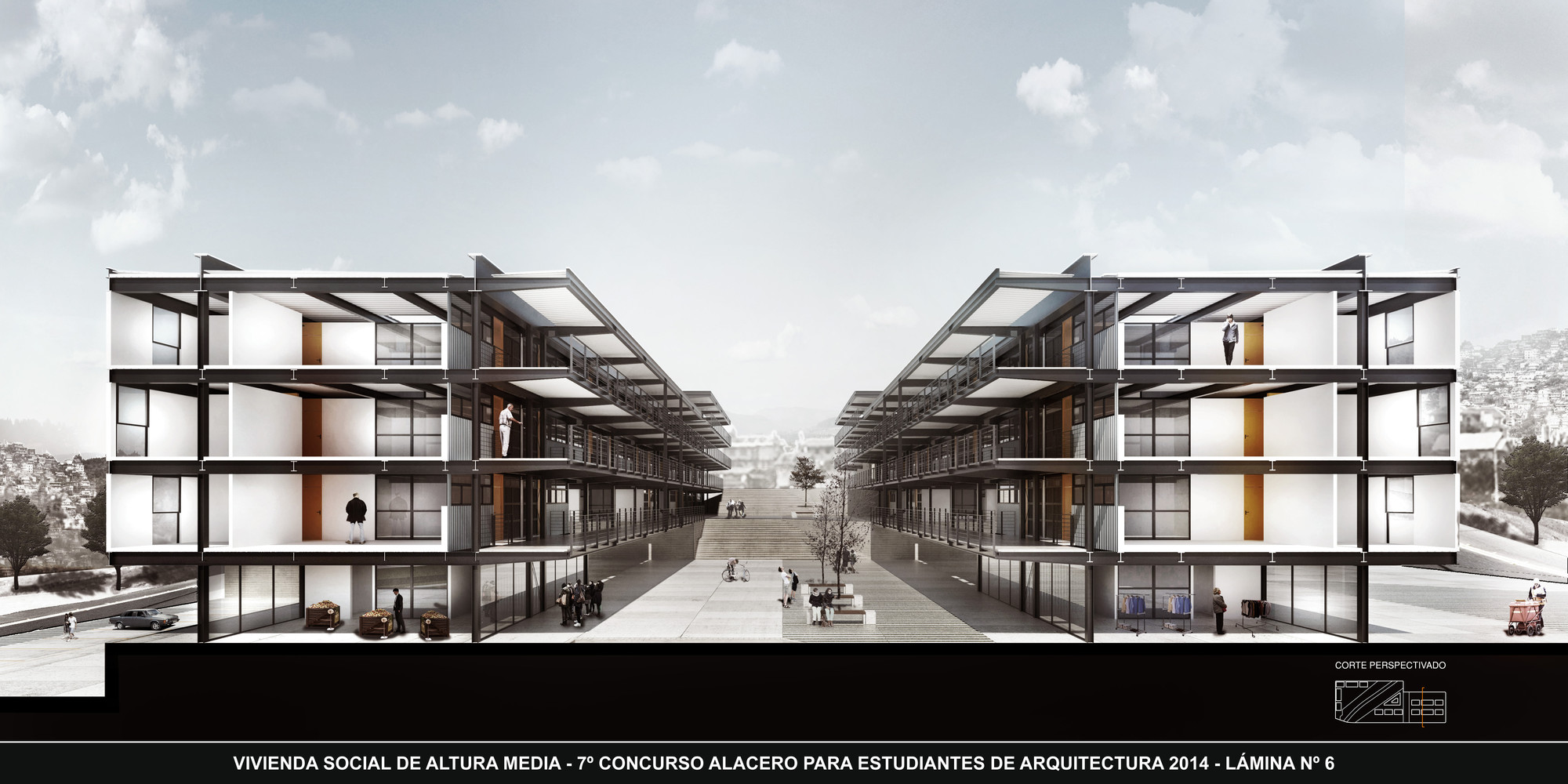 Anuncian ganadores del vii concurso alacero de dise o en for Vivienda arquitectura
