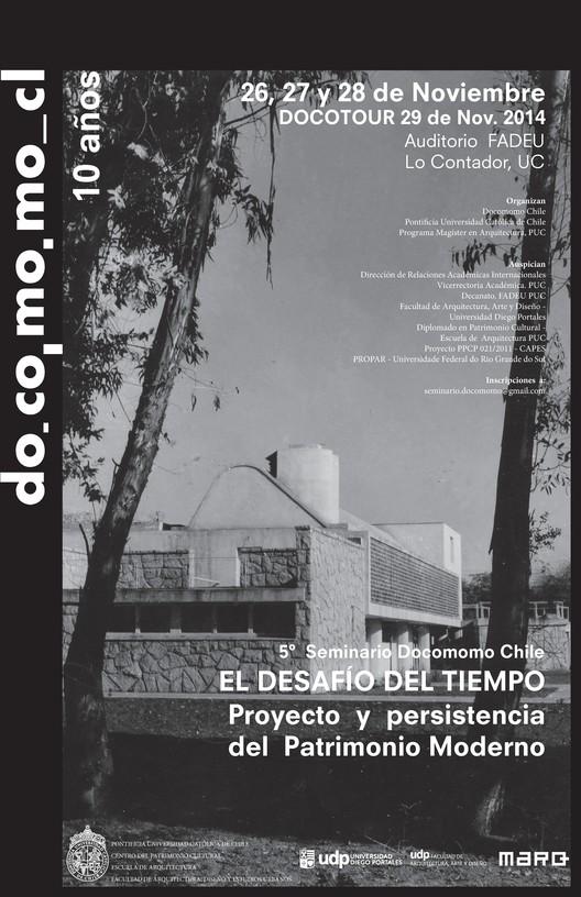 5° Seminario DOCOMOMO Chile / Santiago