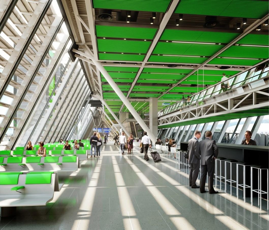 Rogers stirk harbour s geneva airport design receives for K architecture geneve