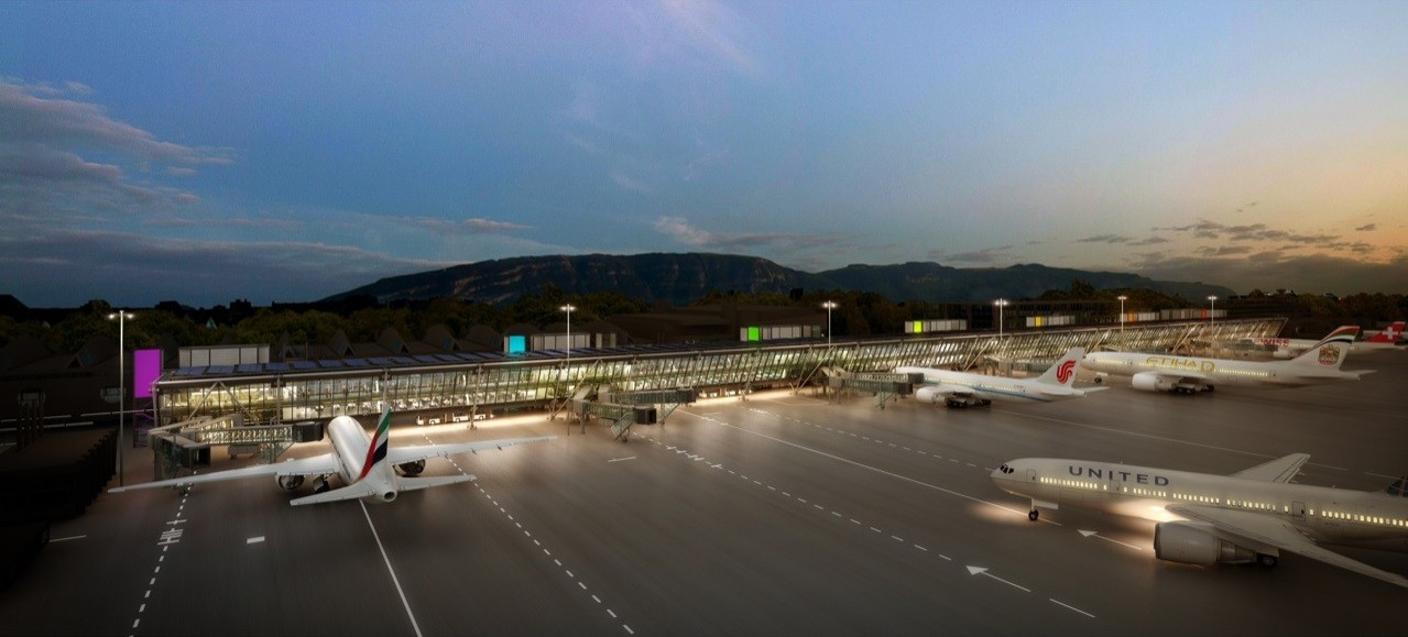 Rogers Stirk Harbour's Geneva Airport Design Receives Planning Permission |  ArchDaily