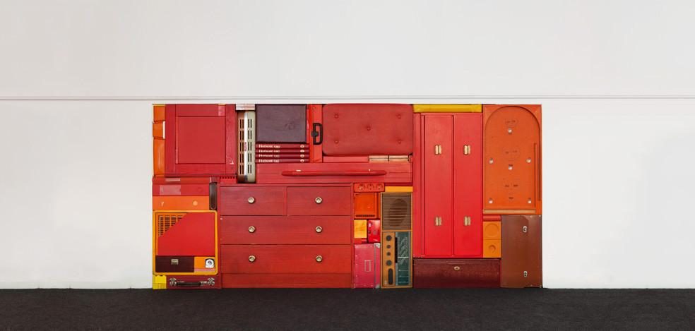 Arte e Arquitetura: esculturas coloridas e instalações como o Tetris por Michael Johansson, © Michael Johansson