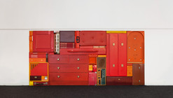 Arte y Arquitectura: coloridas esculturas e instalaciones al estilo Tetris por Michael Johansson
