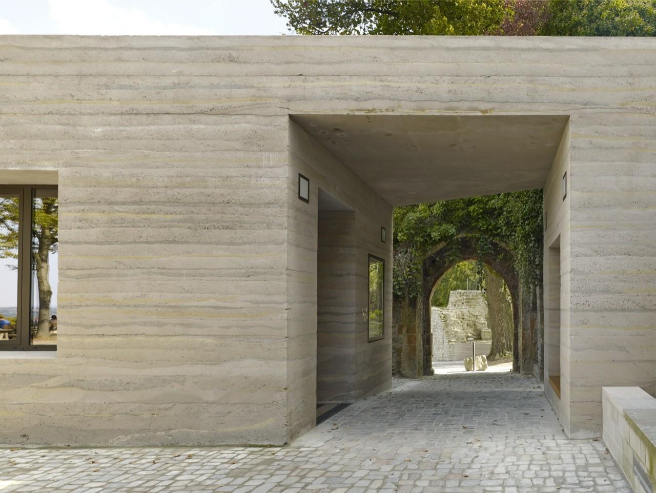 Centro de visitantes Sparrenburg  / Max Dudler, © Stefan Müller