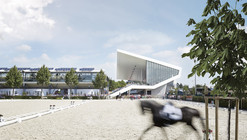 Dressage Arena Extension / Kadawittfeldarchitektur