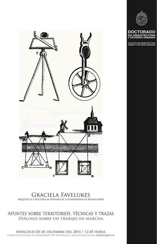 "Charla Graciela Favelukes: ""Apuntes sobre territorios, técnica y trazas. Diálogo sobre un trabajo en marcha"""