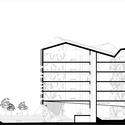 Section. Image Courtesy of Utopia Arkitekter