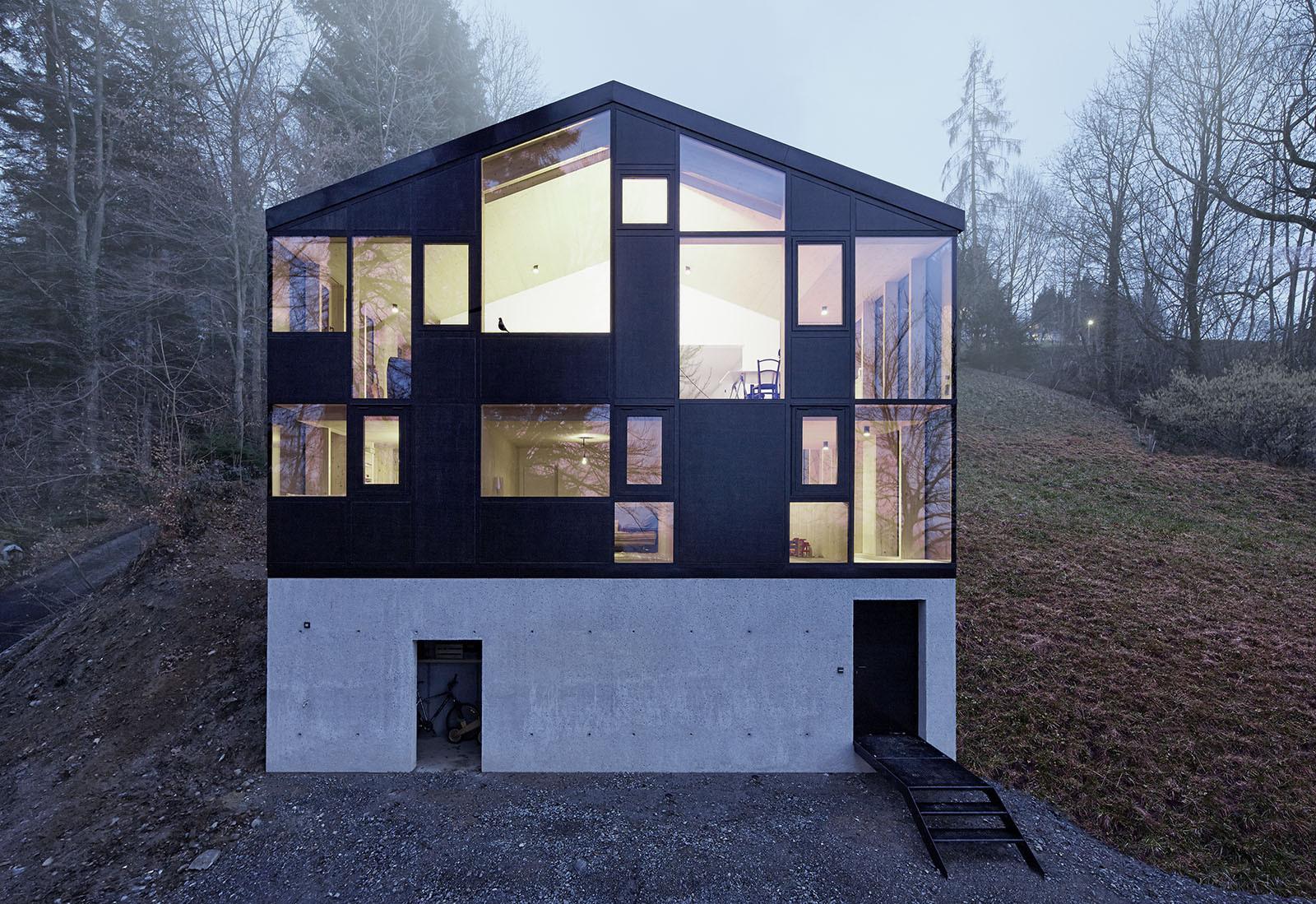 Casa Hohlen / Jochen Specht, © Adolf Bereuter