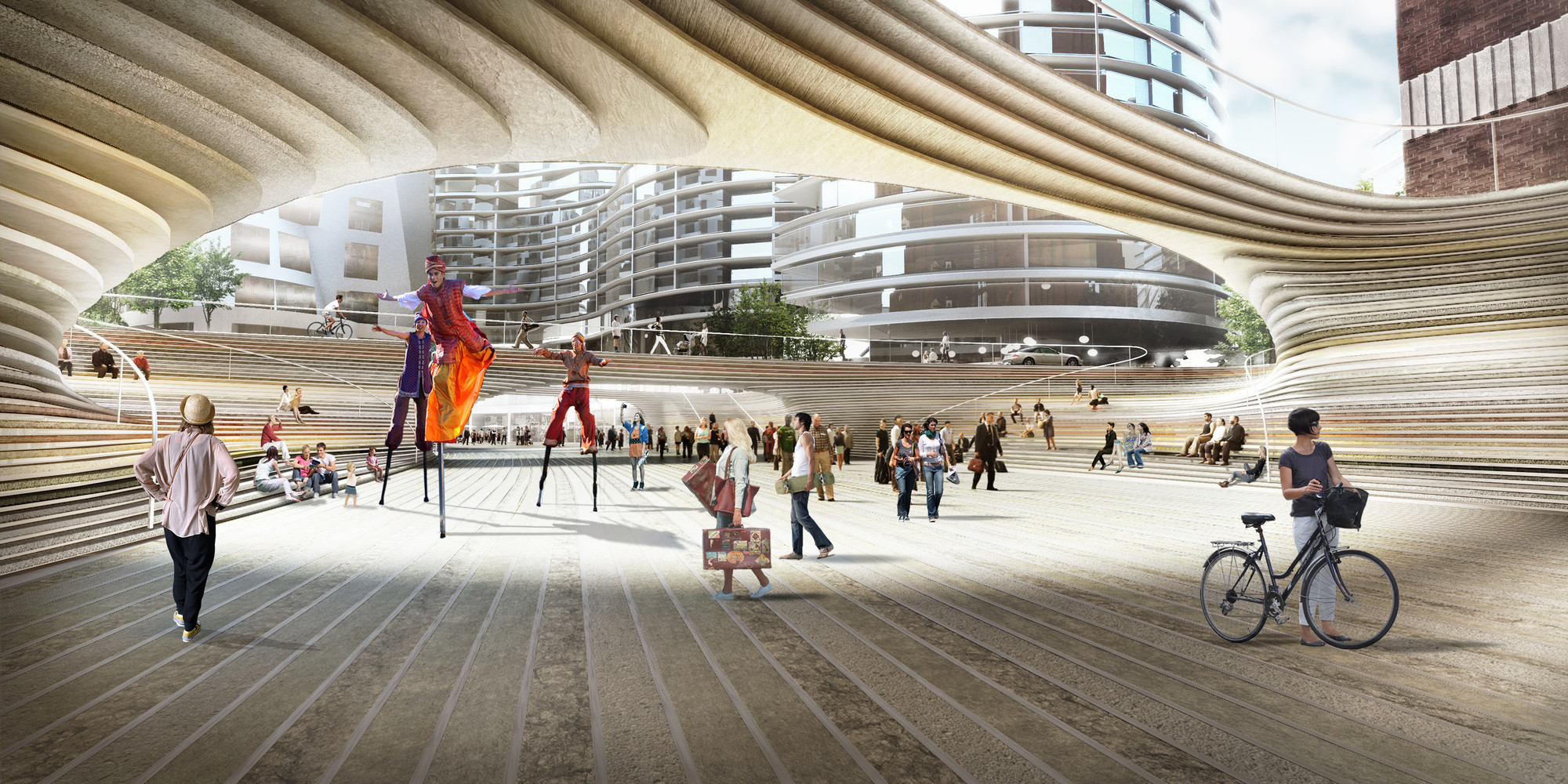 Big unveils design for battersea power station square for Architecture company