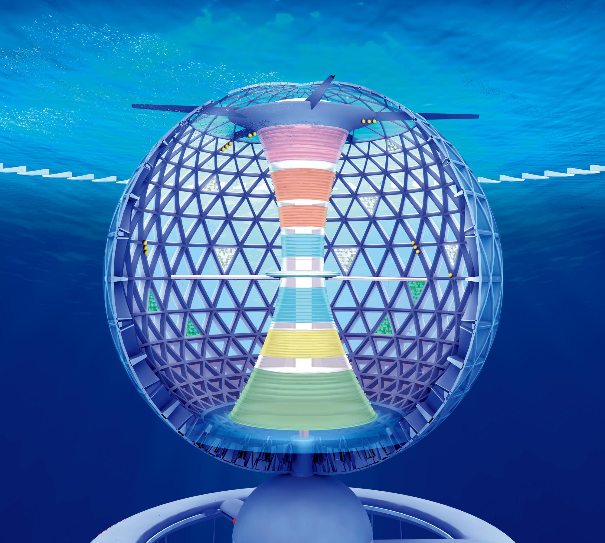 Shimizu Corporation apresenta proposta para uma cidade submersa