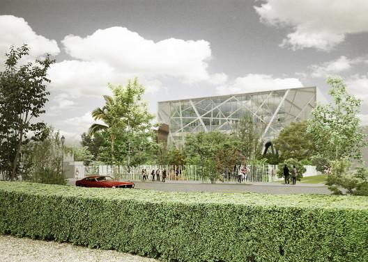 Diseño preliminar. Imagen © Aranguren & Gallegos Arquitectos