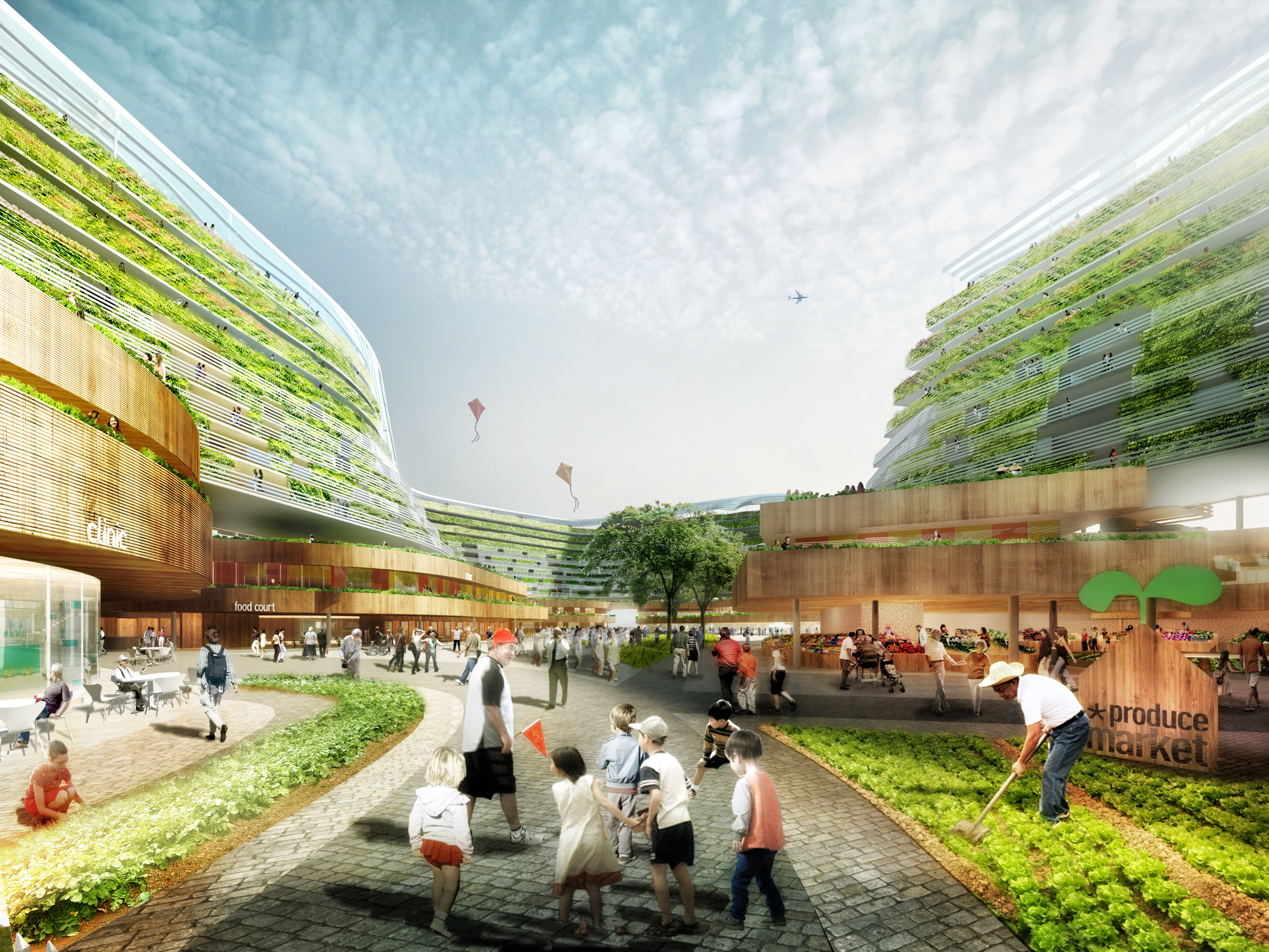 SPARK Proposes Vertical Farming Hybrid to House Singapore s Aging Populat
