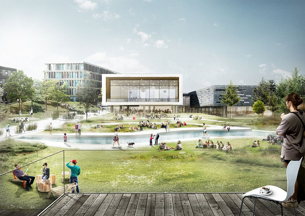 C.F.Møller y TRANSFORM seleccionados para expandir el campus de la Copenhagen Business School, Courtesy of C.F. Møller + TRANSFORM