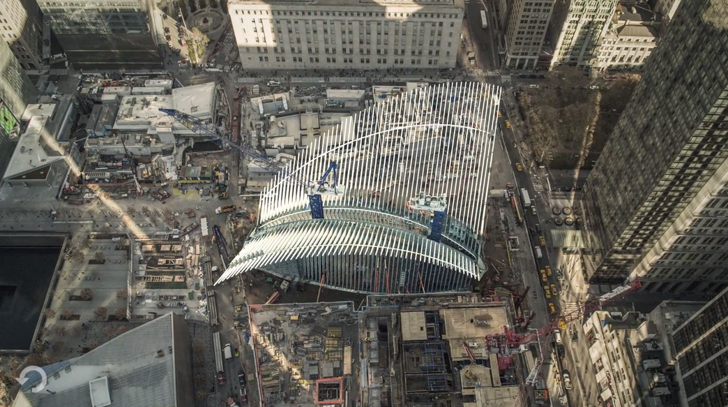 New York's $4 Billion Train Station Takes Shape, Screenshot. Image © Bedel Saget/The New York Times