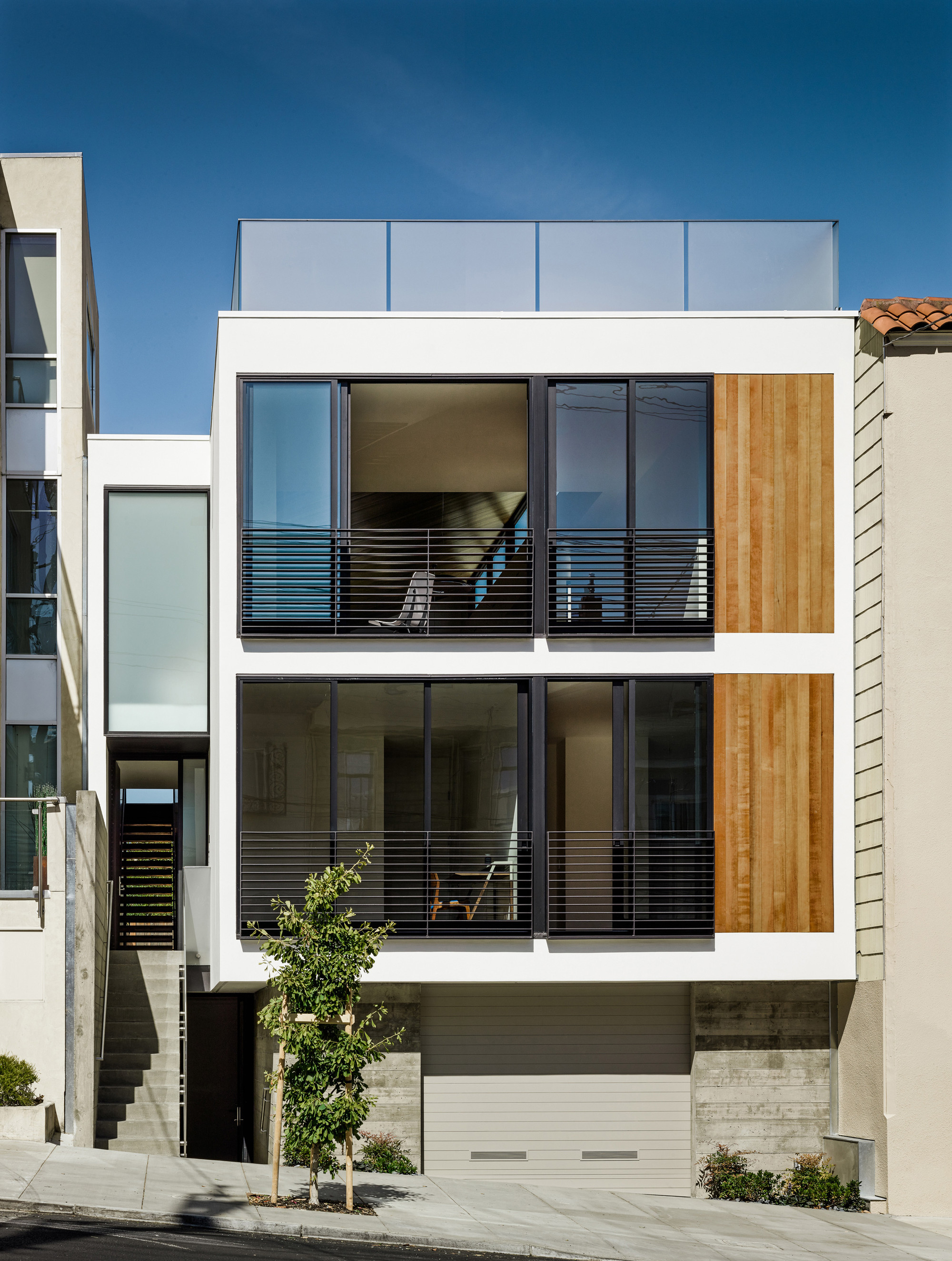 Laguna Street Residence Michael Hennessey Architecture