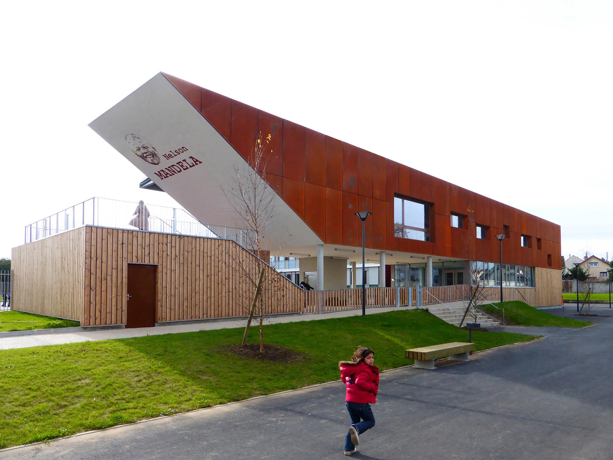 Escuela Nelson Mandela / AR+TE Architectes, © Carlos Barba