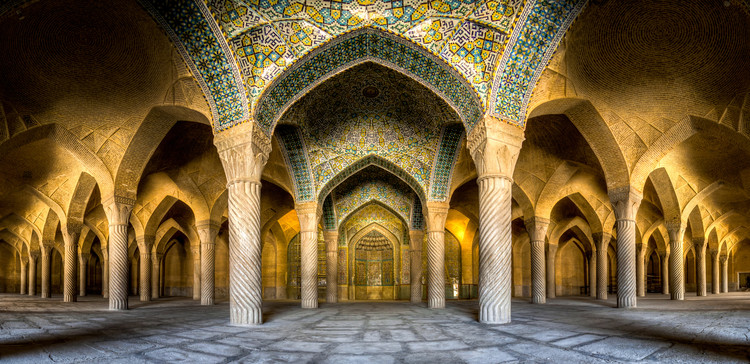 Fotografia e Arquitetura: Mohammad Reza Domiri Ganji - Dentro dos Templos Iranianos, Mesquita Vakil. Imagem Cortesia de Mohammad Reza Domiri Ganji