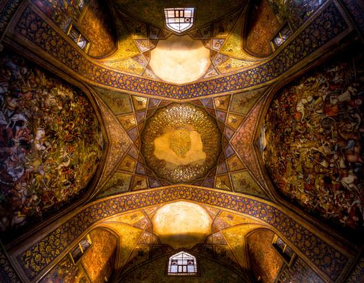 Chehel Sotoun. Image Cortesia de Mohammad Reza Domiri Ganji