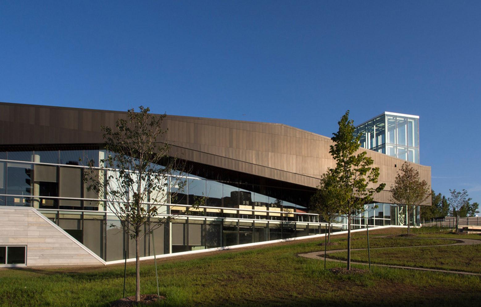 The Bibliothèque du Boisé / Consortium Labonté Marcil, Cardinal Hardy, Eric Pelletier architectes, © Yien Chao