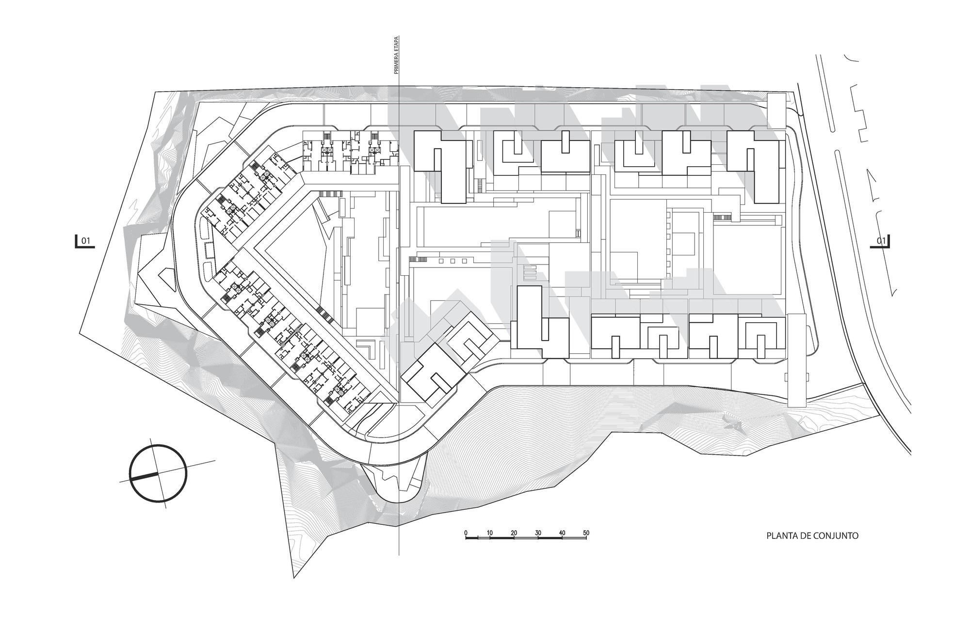 Central park primer etapa migdal arquitectos archdaily for Plantas de colegios arquitectura