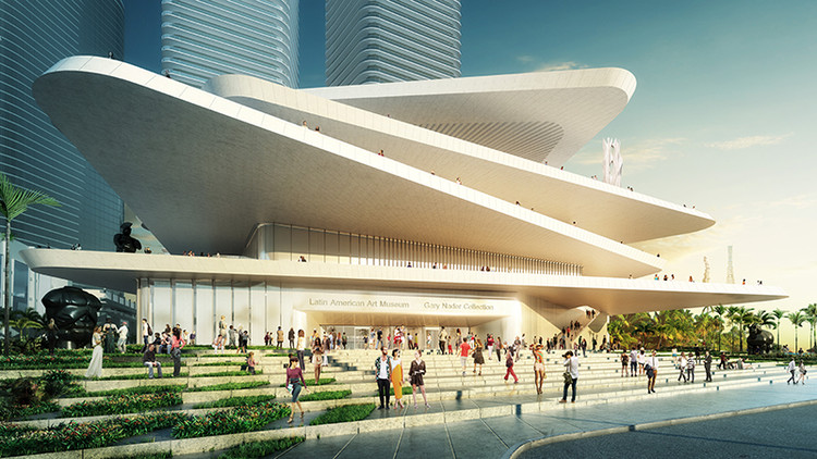 FR-EE / Fernando Romero EnterprisE Reveals Latin American Art Museum for Miami, Courtesy of FR-EE / Fernando Romero EnterprisE