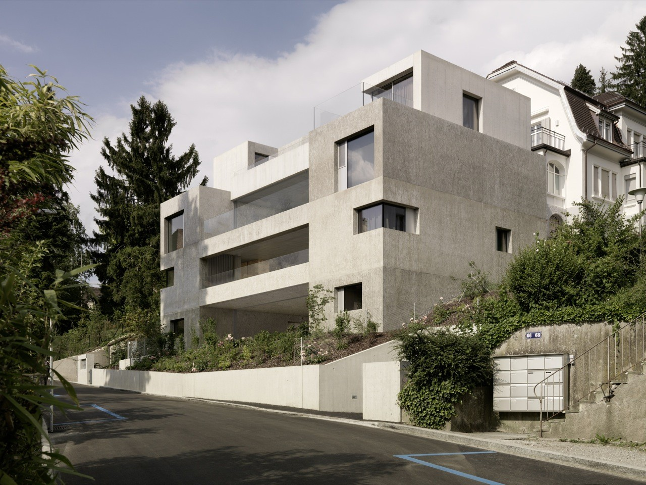Stone H / Gus Wüstemann Architects, © Bruno Helbling