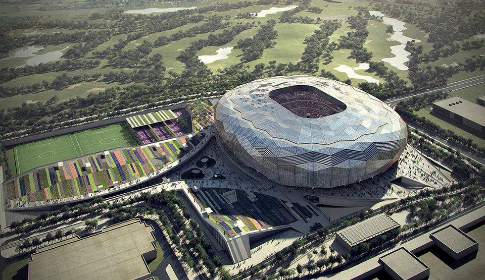 Qatar Unveils Designs for Fourth World Cup Stadium, Courtesy of SC