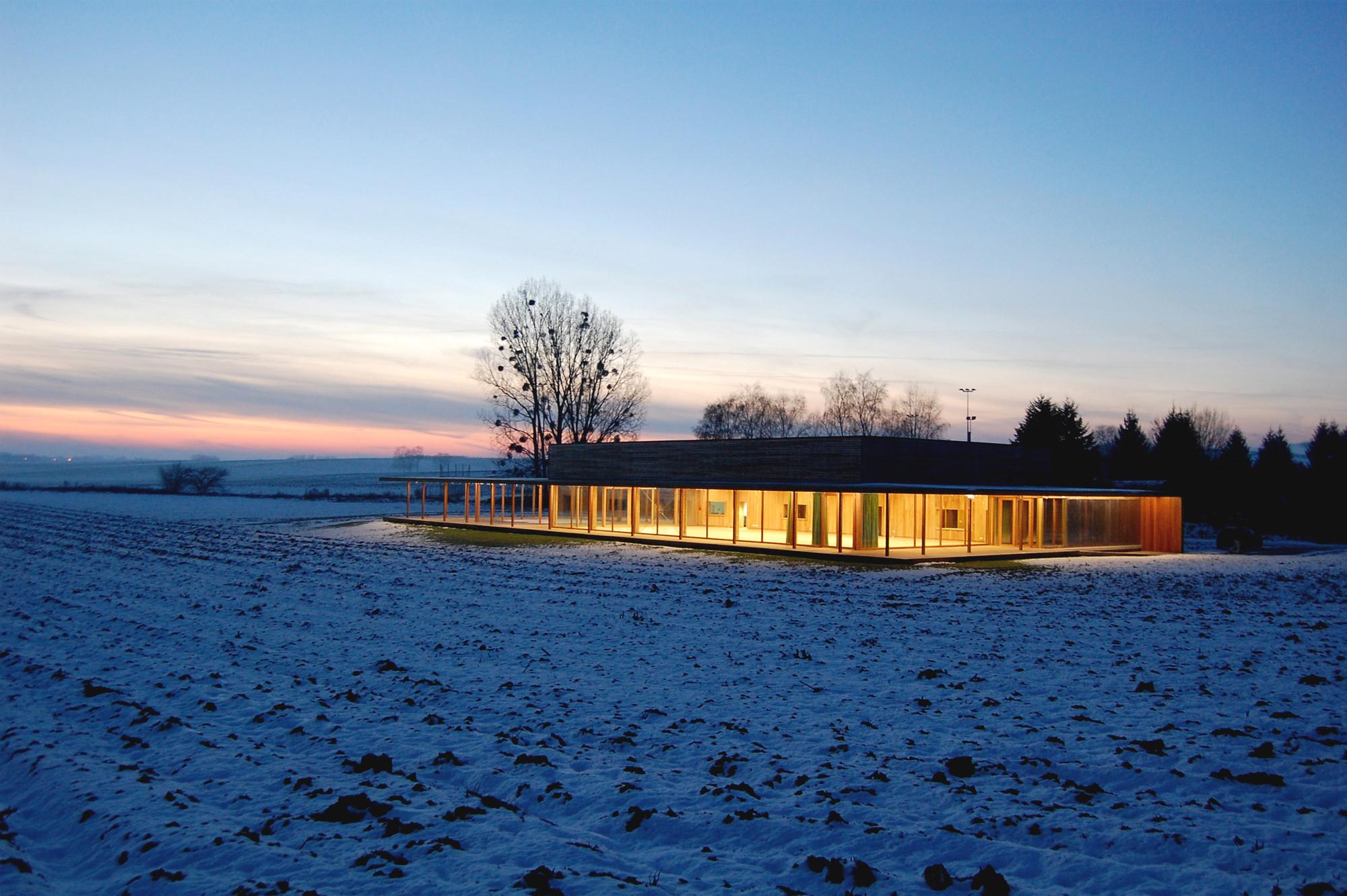 Village Hall in HUNSPACH / Heintz-Kehr & associés, © Alain Villa