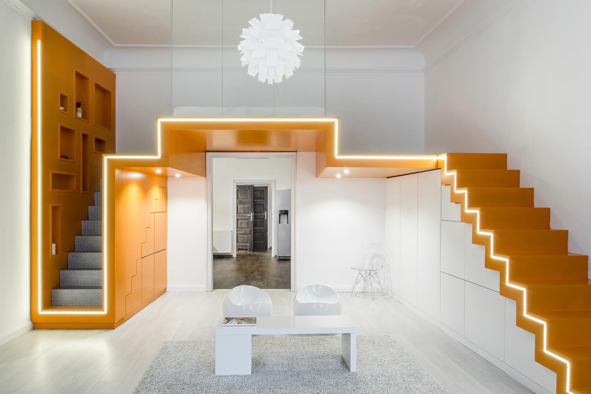 Loft para una pareja batlab plataforma arquitectura - Loft de diseno ...