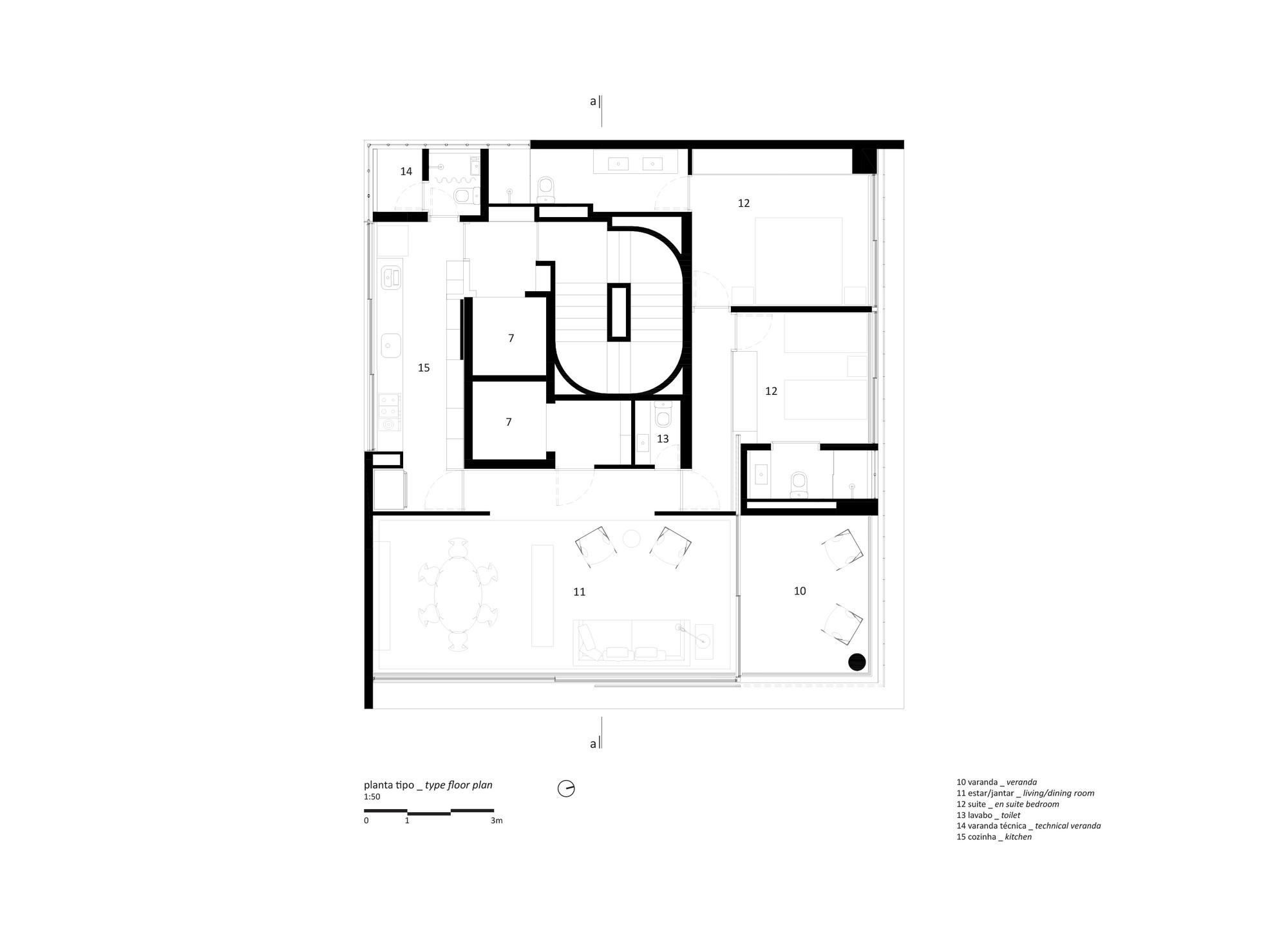 Gallery of vitacon itaim building studio mk27 marcio for Marcio kogan plans