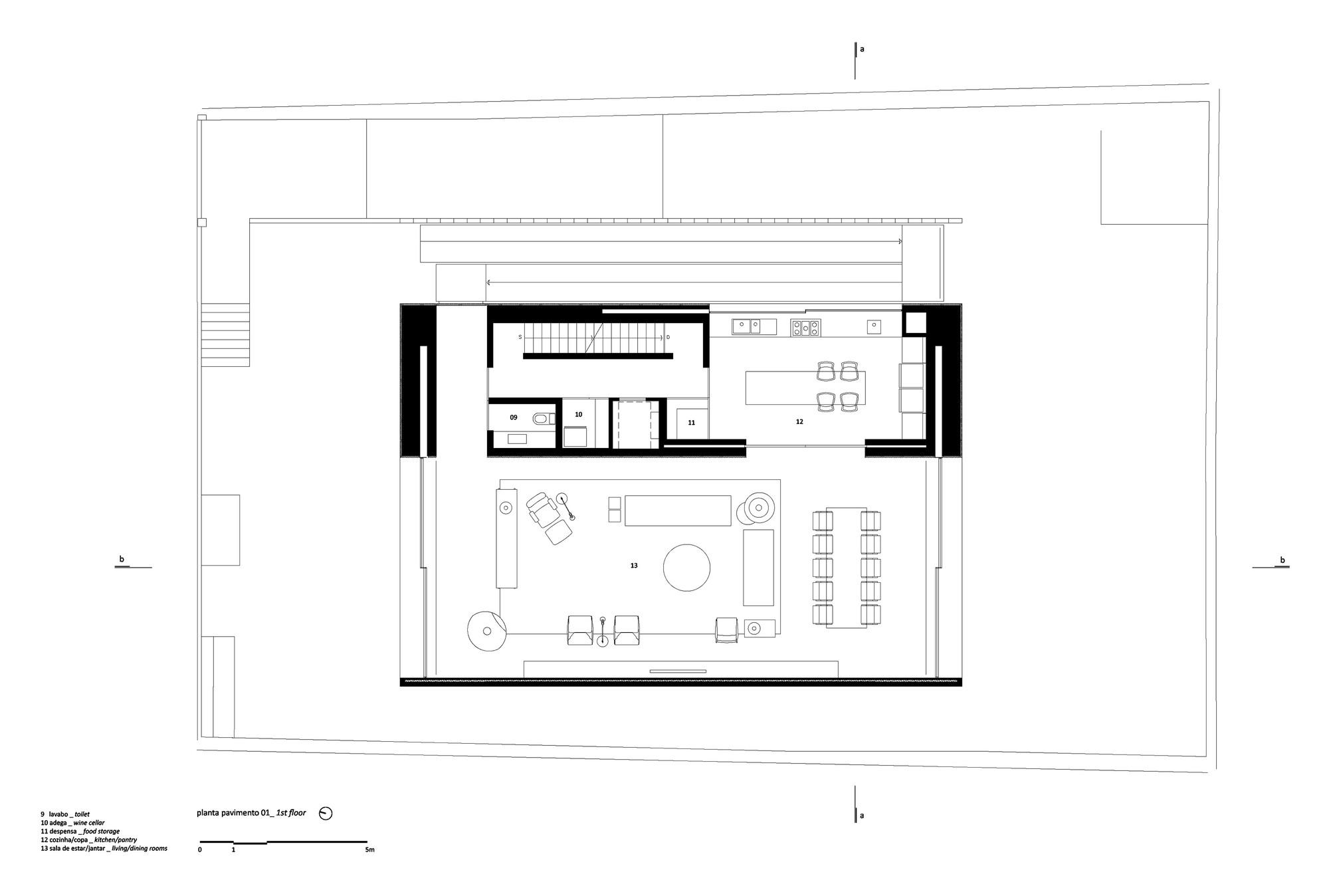Gallery of b b house studio mk27 marcio kogan renata for Marcio kogan plans