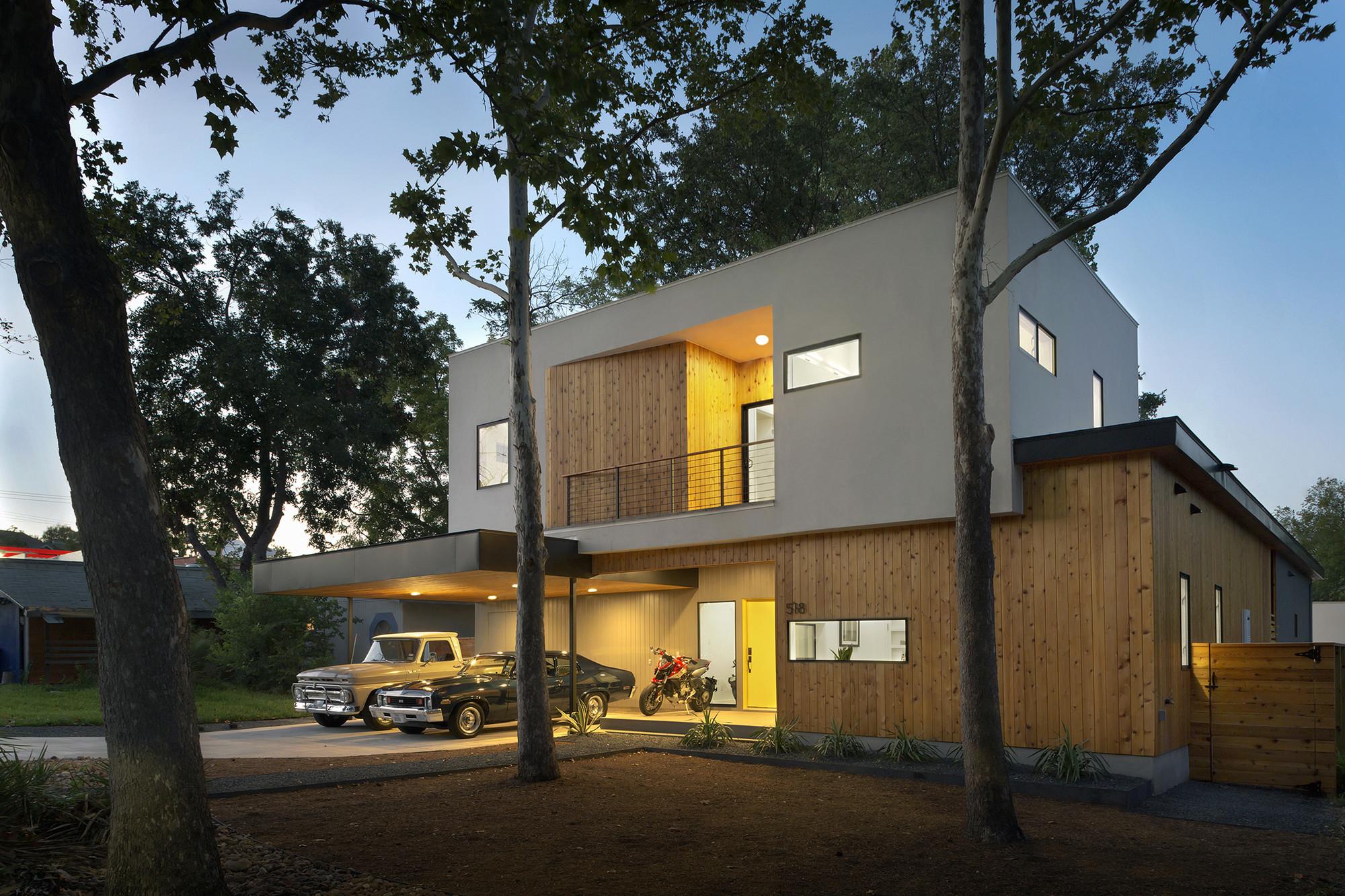 U Shaped Floor Plans With Courtyard Gallery Of Tree House Matt Fajkus Architecture 20