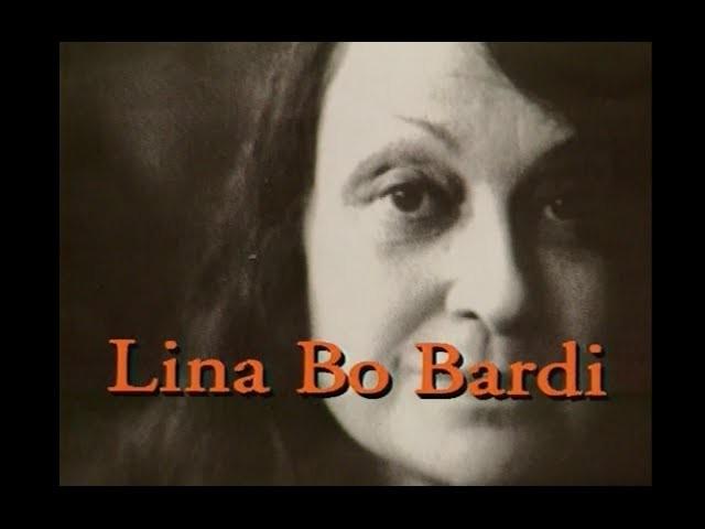 """Cinema e Arquitetura: """"Lina Bo Bardi"""", Cena do Documentário: """"Lina Bo Bardi"""" de Aurélio Michiles"""