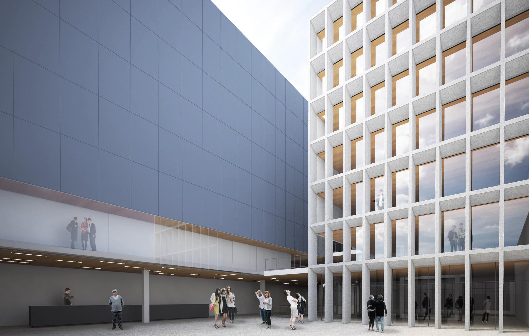 Metrópole Arquitetos vence o concurso nacional para a requalificação do MIS PRO no Rio de Janeiro, Proposta vencedora - Metrópole Arquitetos . Image Cortesia de IAB/RJ