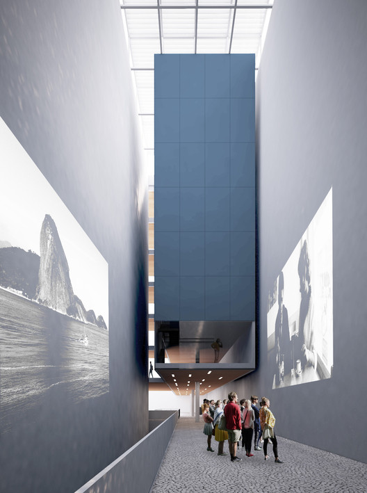 Proposta vencedora - Metrópole Arquitetos . Image Cortesia de IAB/RJ