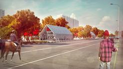 Nefa Arquitectos elegido para rediseñar la estación de metro Solntsevo en Moscú