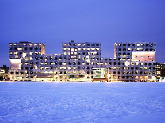 Simmons Hall at MIT. Image © Andy Ryan - Steven Holl Architects