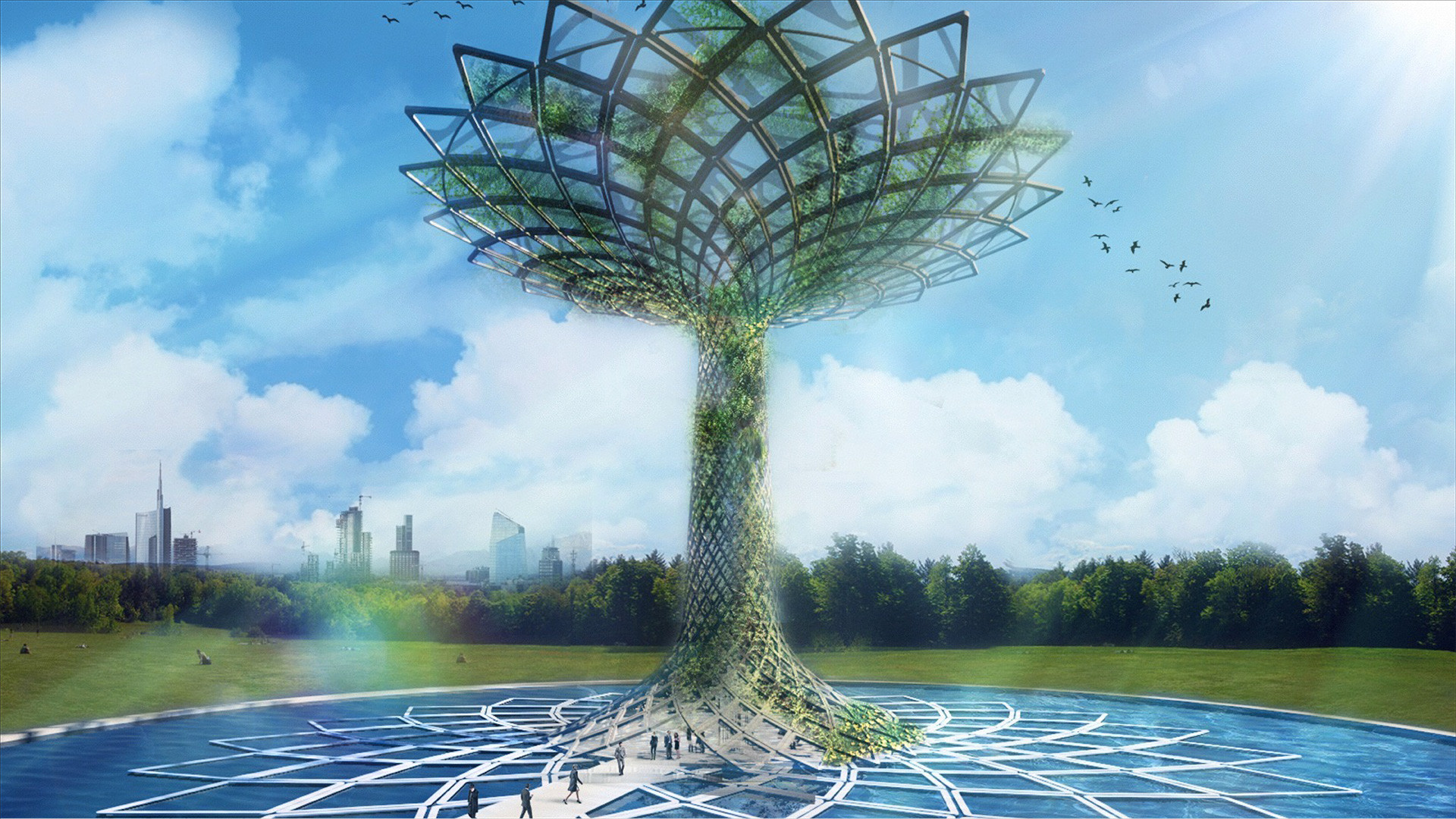 Wilkinson Eyre Claim Plagiarism At 2015 Milan Expo Site, The 'Tree of Life' at the 2015 Milan Expo's Italian Pavilion. Image © Marco Balich / Studio Gio' Forma