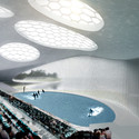 Inside View of the Dolphinarium. Image Courtesy of SYAA