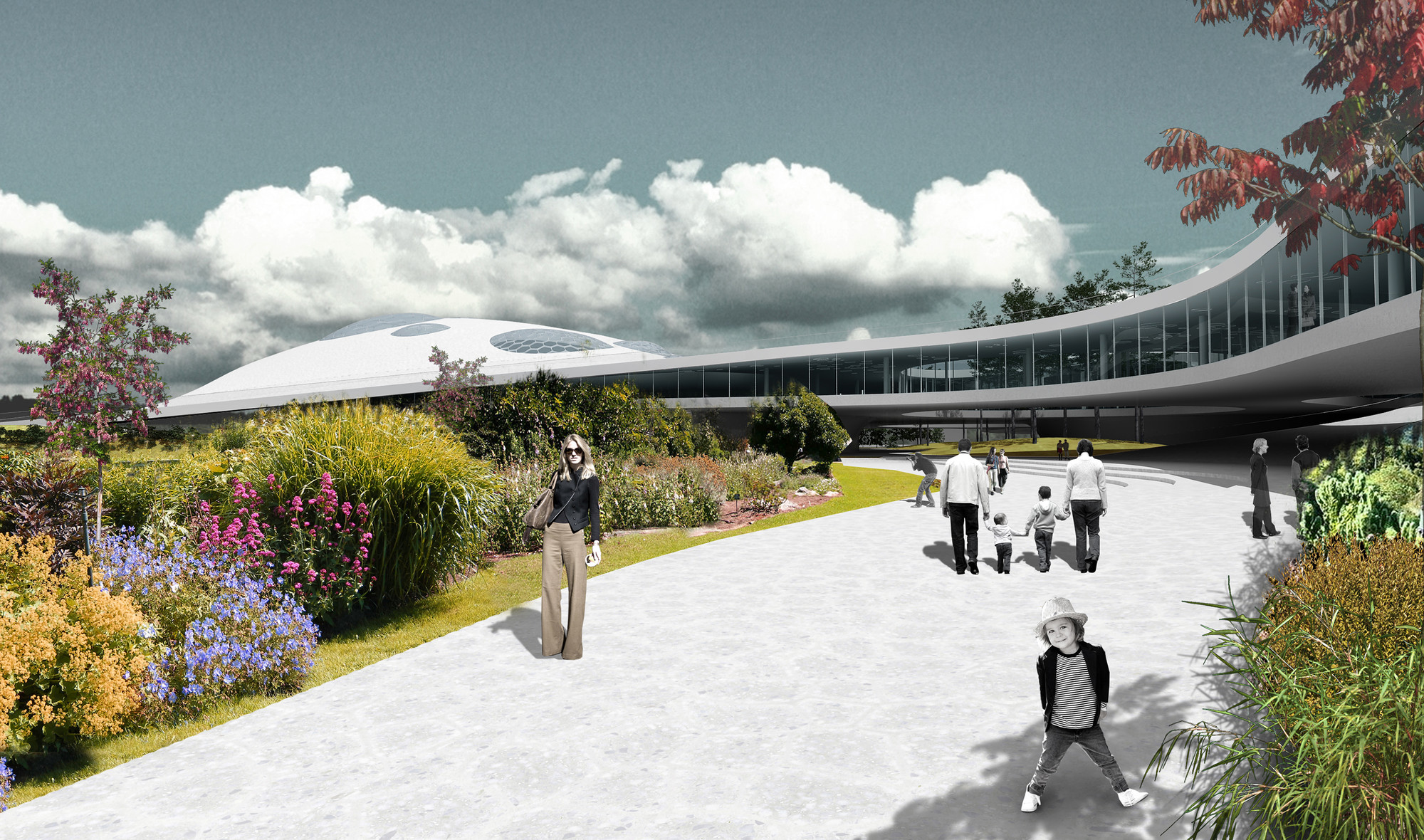 Gallery of SYAA Designs New Natural Science Museum Complex
