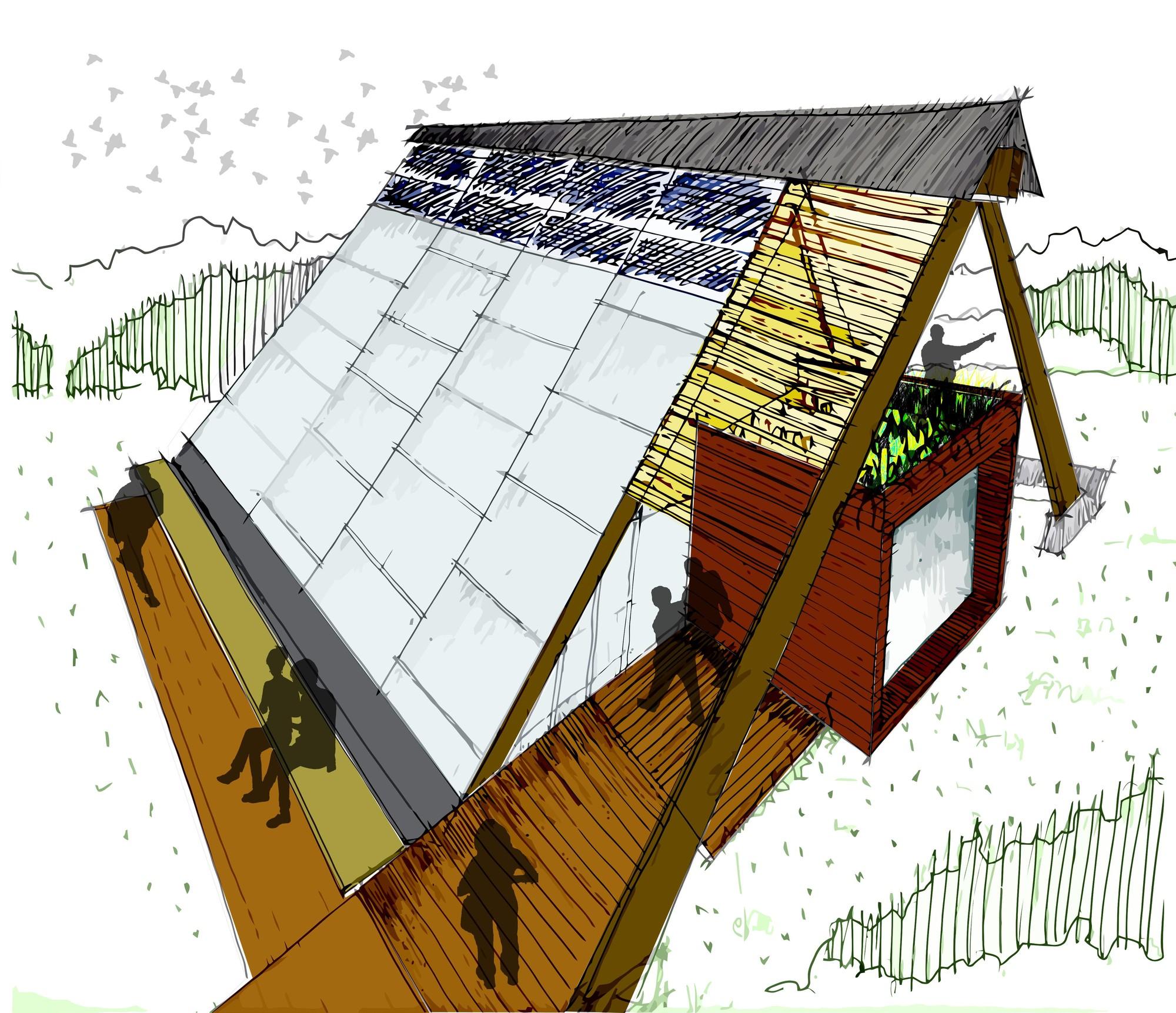 Galer a de construye solar casa atrapa lluvia atrapa for Ideas para reformar una vivienda