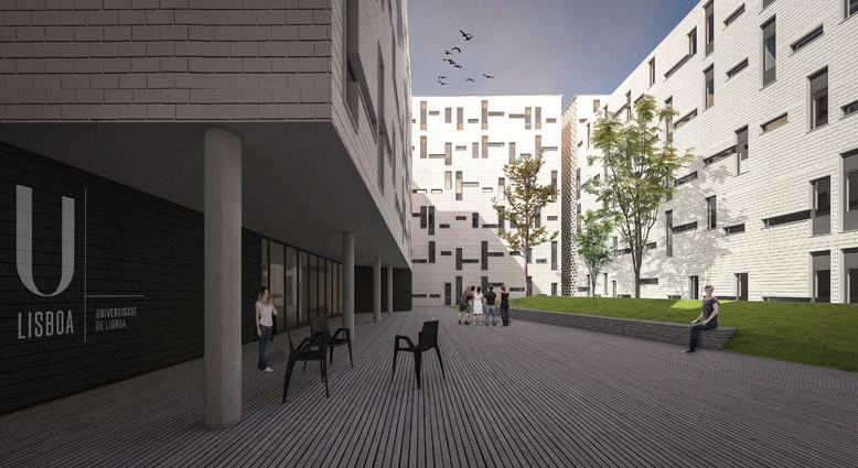 CVDB Arquitectos vence concurso para habitação estudantil em Lisboa, Cortesia de CVDB Arquitectos