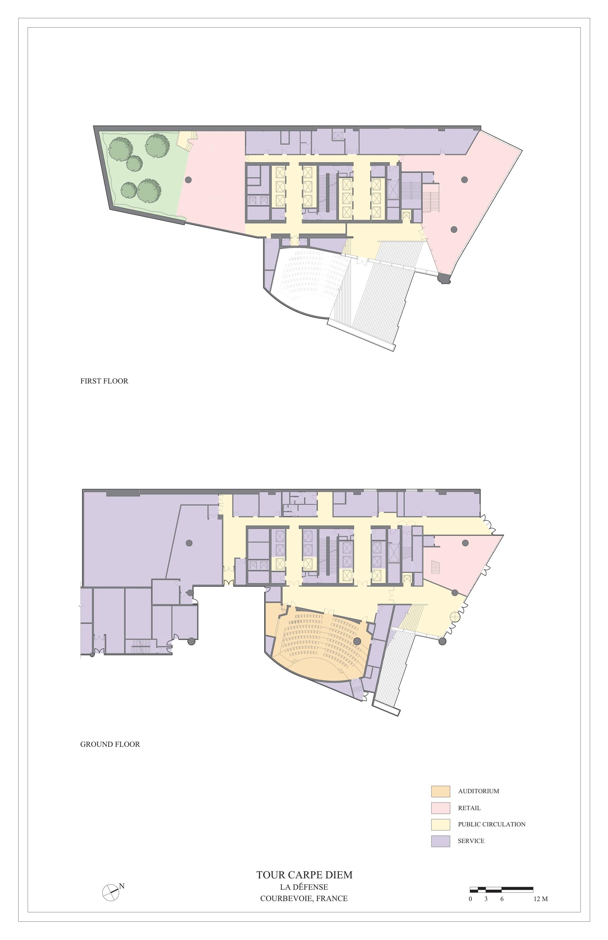 Tour Carpe Diem Robert Am Stern Architects Archdaily Wiring Diagram Courtesy Of Daniel Lighting Plans