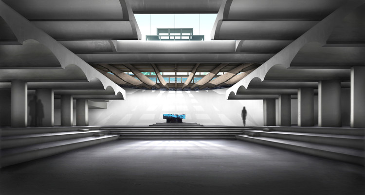 Avanti and NORD Selected to Revitalize St Peter's Seminary in Scotland, Restored chapel visualisation. Image Courtesy of James Johnson